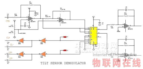 电解质型倾角传感器在天线控制中的应用(3)